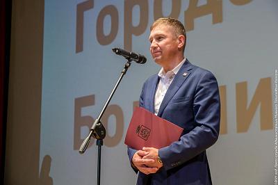 фото Вячеслав Горячкин поздравил сотрудников Демидовской городской больницы